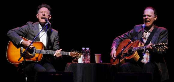 Lyle Lovett & John Hiatt at Queen Elizabeth Theatre