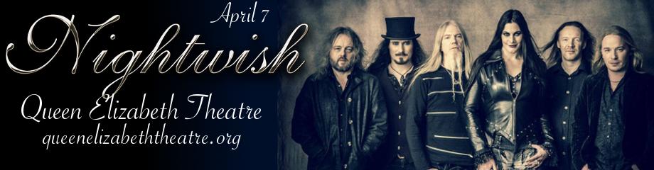 Nightwish at Queen Elizabeth Theatre