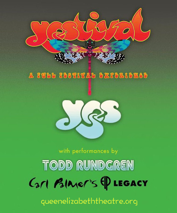 Yes & Todd Rundgren at Queen Elizabeth Theatre