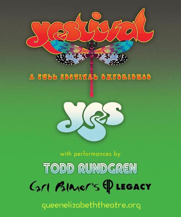 Yes & Todd Rundgren at Queen Elizabeth Theatre