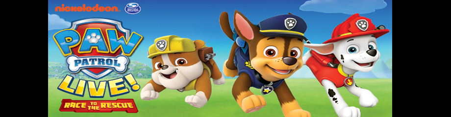 Paw Patrol at Queen Elizabeth Theatre