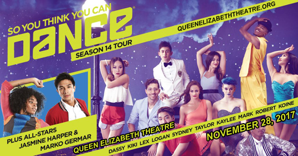 So You Think You Can Dance? at Queen Elizabeth Theatre