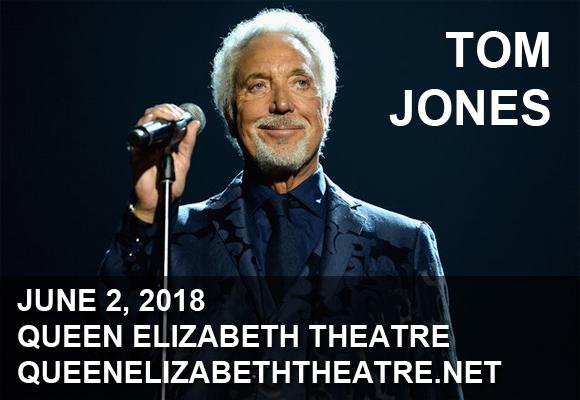 Tom Jones at Queen Elizabeth Theatre