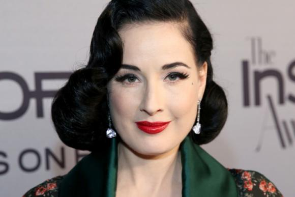 Dita Von Teese at Queen Elizabeth Theatre