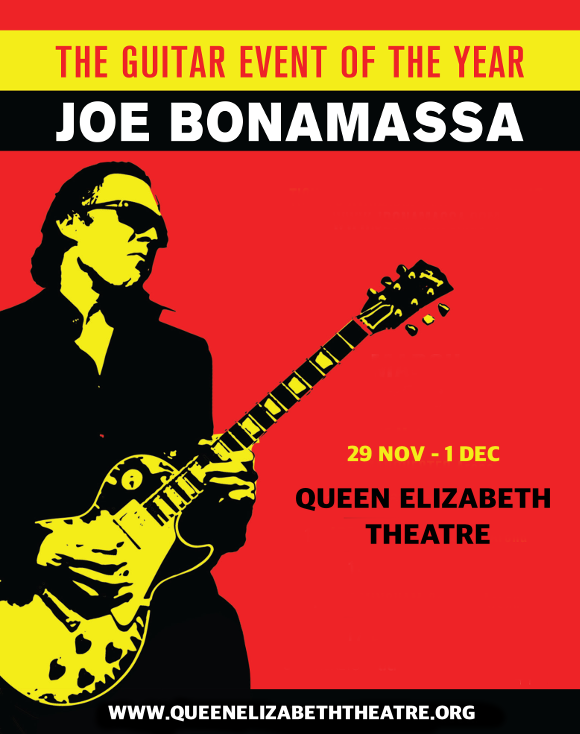 Joe Bonamassa at Queen Elizabeth Theatre