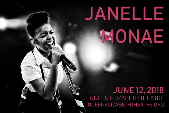 Janelle Monae at Queen Elizabeth Theatre