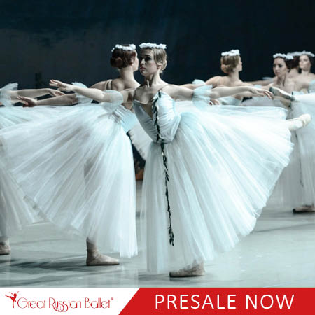 Great Russian Ballet: Giselle at Queen Elizabeth Theatre