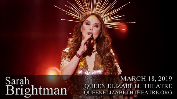 Sarah Brightman at Queen Elizabeth Theatre