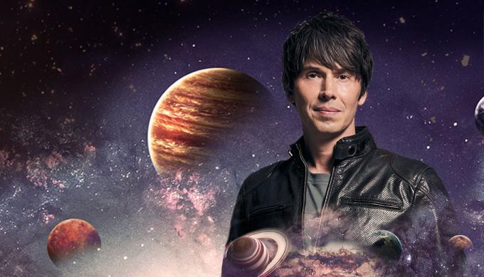 Professor Brian Cox at Queen Elizabeth Theatre