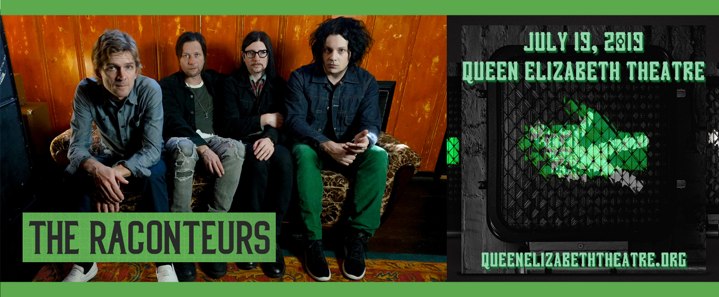 The Raconteurs at Queen Elizabeth Theatre