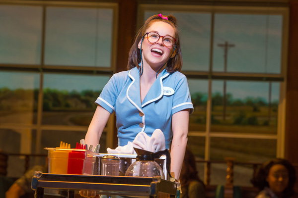 Waitress at Queen Elizabeth Theatre