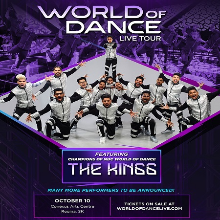 World of Dance Live at Queen Elizabeth Theatre