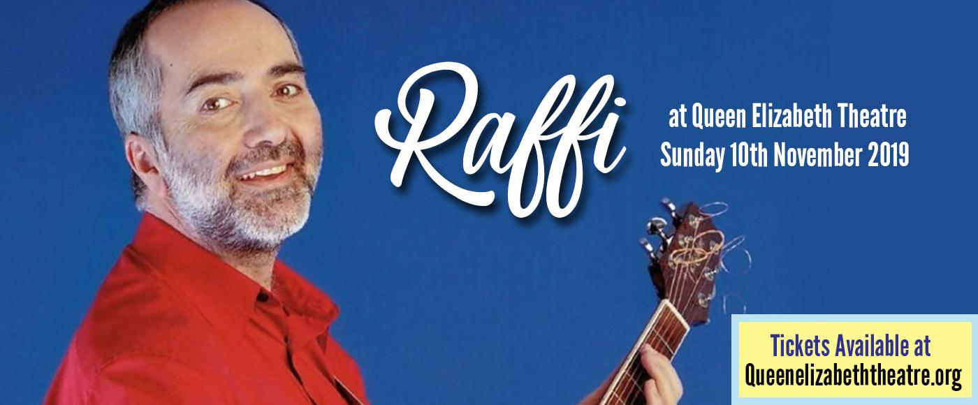 Raffi at Queen Elizabeth Theatre