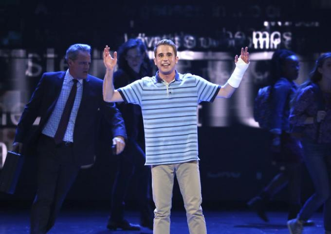 Dear Evan Hansen at Queen Elizabeth Theatre