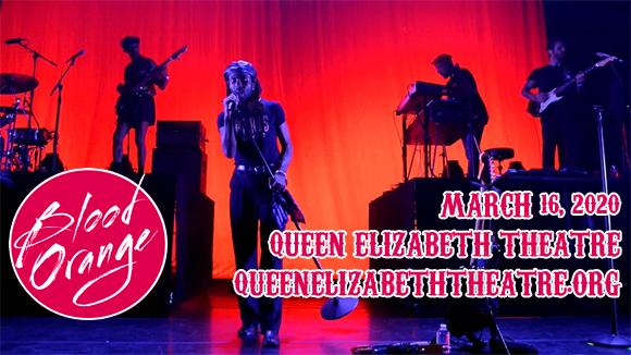 Blood Orange & Tei Shi at Queen Elizabeth Theatre