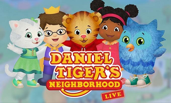 Daniel Tiger's Neighborhood at Queen Elizabeth Theatre