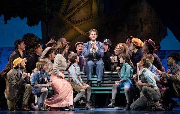 Finding Neverland at Queen Elizabeth Theatre