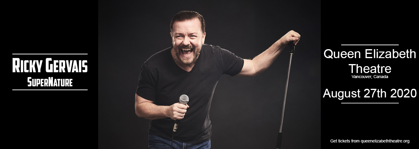 Ricky Gervais: SuperNature at Queen Elizabeth Theatre