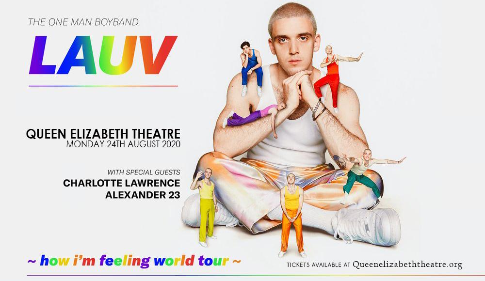 Lauv [POSTPONED] at Queen Elizabeth Theatre