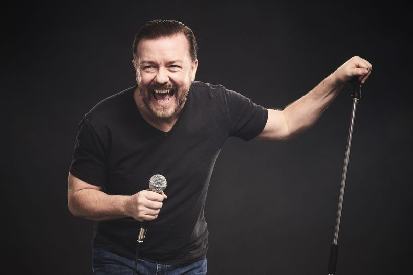Ricky Gervais at Queen Elizabeth Theatre