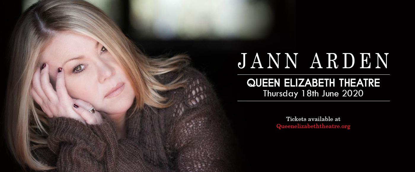 Jann Arden [CANCELLED] at Queen Elizabeth Theatre