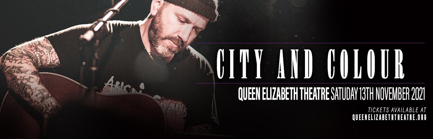 City and Colour at Queen Elizabeth Theatre