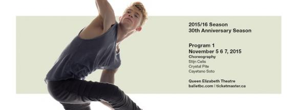 Ballet BC: Program 2 at Queen Elizabeth Theatre