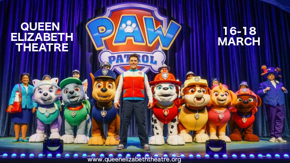 Paw Patrol at Queen Elizabeth Theatre