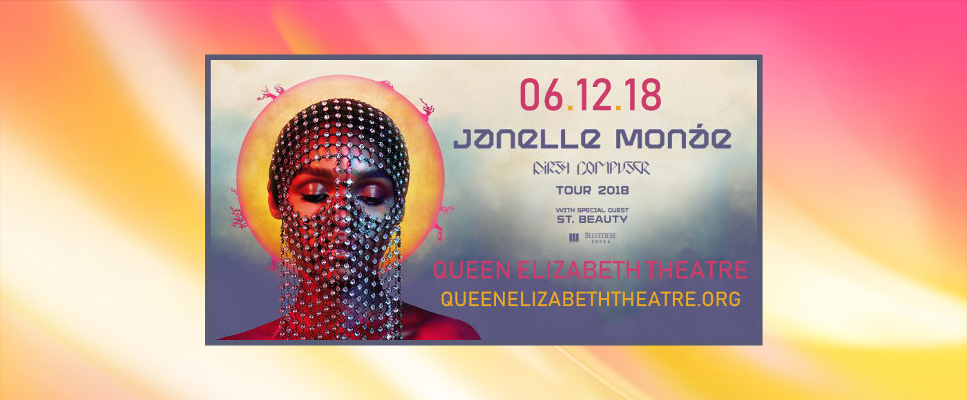 Janelle Monae at Queen Elizabeth Theatre