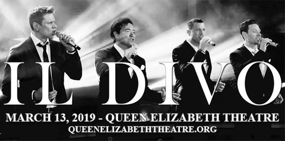 Il Divo at Queen Elizabeth Theatre