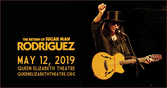 Rodriguez at Queen Elizabeth Theatre
