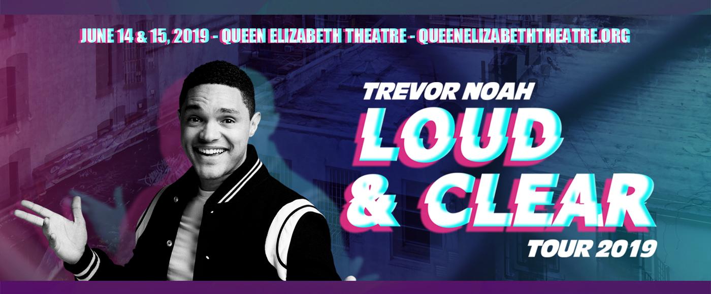 Trevor Noah at Queen Elizabeth Theatre