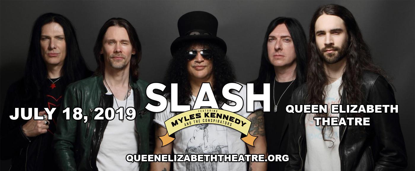 Slash at Queen Elizabeth Theatre