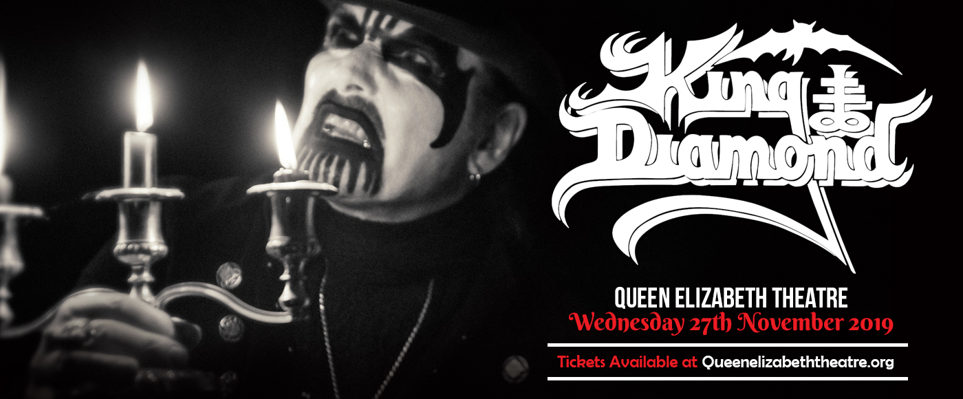 King Diamond at Queen Elizabeth Theatre