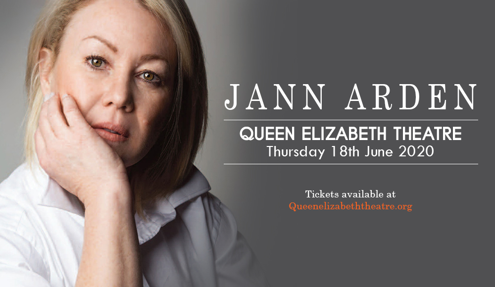 Jann Arden [POSTPONED] at Queen Elizabeth Theatre