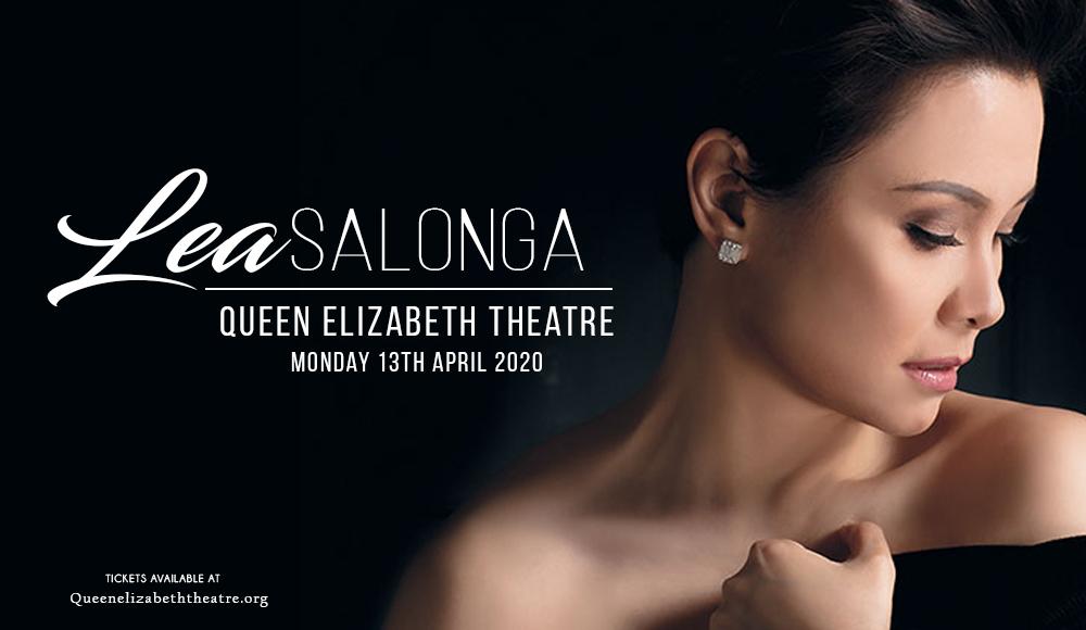 Lea Salonga at Queen Elizabeth Theatre